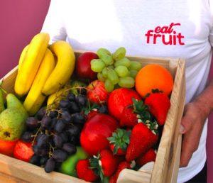 Office fruit basket Edinburgh