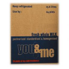 Semi Skimmed Milk Pergal 13.63ltr